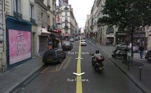 Rue Fontaine, à Paris. Une fusillade pour règlement de comptes a causé la mort d'un homme.
