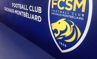 Montbéliard, le 6 juillet 2015. - Le nouveau logo du FC Sochaux pour la saison 2015-2016, la première avec le nouveau propriétaire du club, la société chinoise Tech Pro Technology Development Limited.