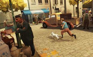 Un nouveau jeu Tintin en développement