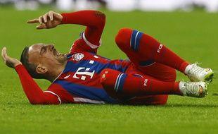 Ribéry n'a plus joué depuis le mois de mars.