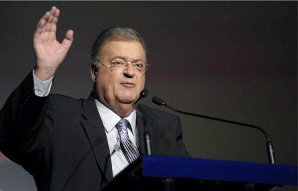 Georges Frêche a commencé sa vie politique en tant que maire de Montpellier en 1977. En 2004, il est élu président du conseil régional. Un mandat renouvelé en mars 2010 jusqu'à dimanche dernier, où il est foudroyé à l'hôtel de région par une crise cardiaque. –  DAMOURETTE / SIPA