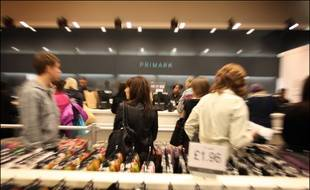 Un magasin Primark. Photo d'illustration.