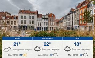 Météo Lille: Prévisions du samedi 27 juin 2020