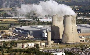 La centrale nucléaire de Tricastin située à Pierrelatte dans le Vaucluse, en région Paca.