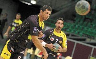 Alberto Entrerrios (à gauche) et Valero Rivera sont tous les deux internationaux espagnols.