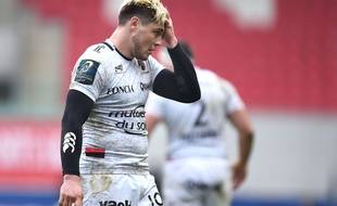 L'arrière du RC Toulon James O'Connor face à Scarlets en coupe d'Europe, le 18 décembre 2016.