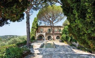 La dernière demeure de Picasso offre aussi une piscine et un tennis