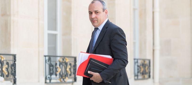 Le secrétaire général de la CFDT Laurent Berger à l'Elysée, le 24 juin 2020.