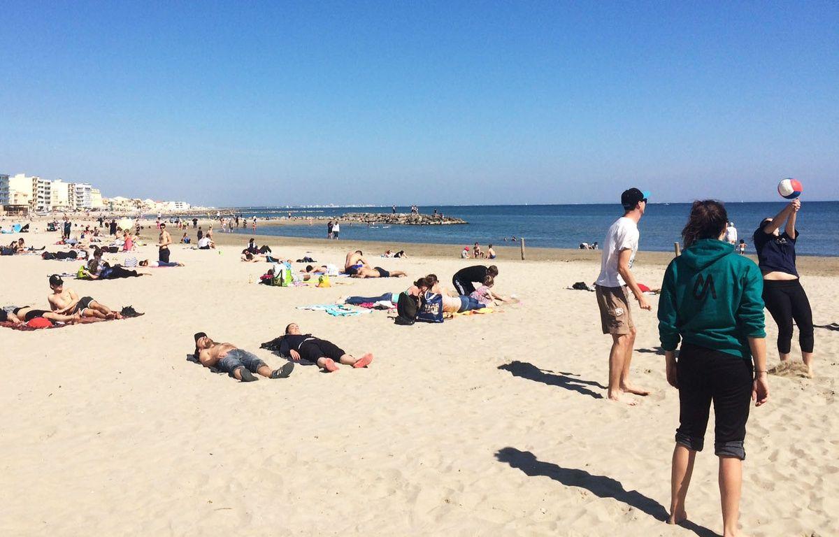 Le drame s'est déroulé sur la plage de la Salis à Antibes.  – N. Bonzom / Maxele Presse