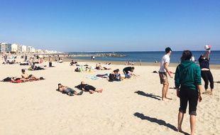 Le drame s'est déroulé sur la plage de la Salis à Antibes.