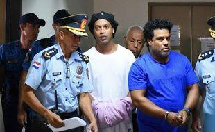 Ronaldinho est incarcéré au Paraguay depuis le 5 mars.