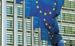 Une vue de la Commission à Bruxelles.