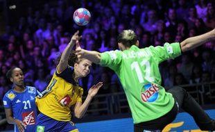 France-Suède lors de l'Euro 2018.