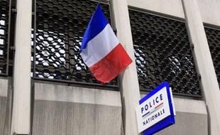 Un commissariat de police le 5 mars 2012 à Paris