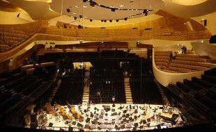 La salle de concert de la nouvelle Philharmonie.