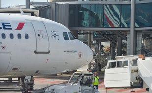Un avion Air France à l'aéroport d'Orly, le 27 mars 2018.