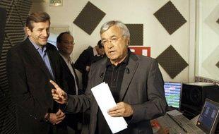 Jean-Claude Dassier, le président de l'Olympique de Marseille, anciennement directeur de l'information de TF1, le 21 janvier 2009 à Boulogne Billancourt.
