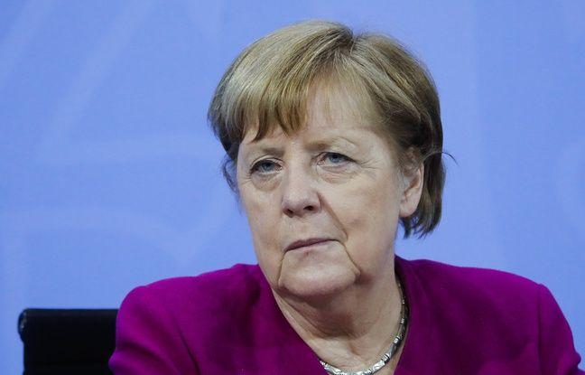 Le parti d'Angela Merkel au plus bas dans les sondages depuis un an