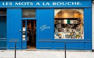 La librairie Les Mots à la bouche, à Paris