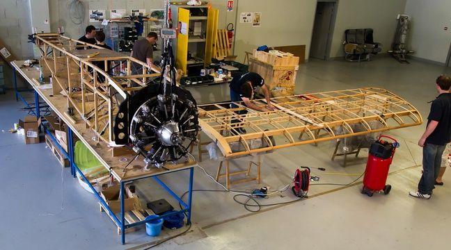 toulouse 75 ans apr s ils ressuscitent un avion de chasse qui n 39 a jamais vol. Black Bedroom Furniture Sets. Home Design Ideas