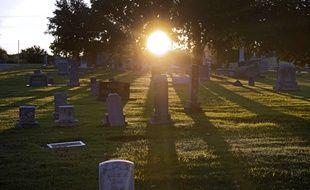 Le cimetière de Tulsa, sous lequel pourrait se trouver une fosse commune datant d'un massacre dans un quartier noir en 1921.