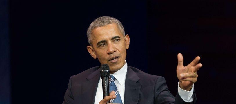 Barack Obama, l'un des plus célèbres gauchers du monde.