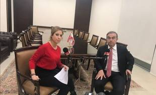 Lea Salame Mocked And Criticized For Her Interview With Carlos Ghosn Teller Report