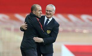 Claudio Ranieri avec Leonardo Jardim.
