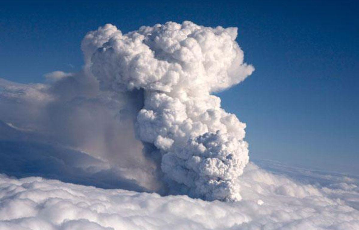 La durée d'une éruption en Islande est extrêmement variable, mais selon certains géophysiciens, celle-ci pourrait durer plusieurs semaines. – REUTERS