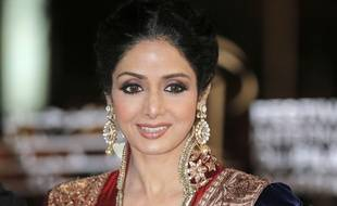 L'actrice Sridevi le 1er décembre 2012 à Marrakech