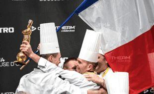 Davy Tissot et sa Team France, victorieux, lundi 27 septembre.