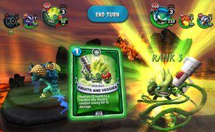 Skylanders Battlecast, c'est aussi et peut-être surtout une application de jeux vidéo.