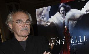 Jean Beaudin à l'anvant-première de son dernier film, «Sans elle», à Montréal en 2006