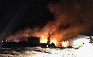 Une explosion, début janvier dans la province de Hermel entre le Liban et la Syrie.