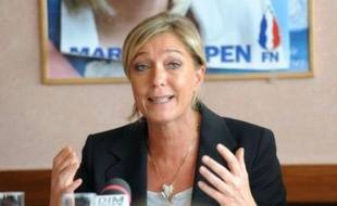 """La vice-présidente du FN Marine Le Pen a déclaré samedi qu'il n'y aurait """"pas d'alliance avec l'UMP"""", après les propos du député du Nord Christian Vanneste favorable à l'émergence d'une """"large droite"""" incluant le Front national."""