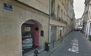 Le cambrioleur s'était introduit dans un appartement de la rue de la Devise, dans l'hyper-centre bordelais.