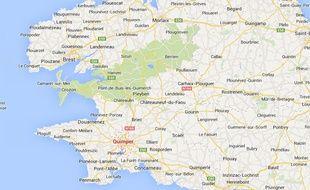 Google maps de Quimper