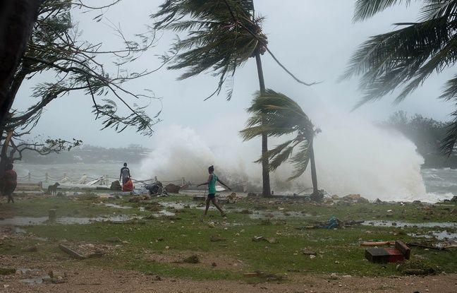 Les dégâts causés par le cyclone Pam sur la côté du Vanuatu, le 14 mars 2015. - UNICEF Pacific / AFP