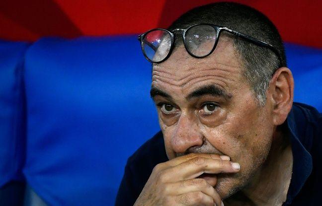 Ligue des champions: Viré de la Juventus, Maurizio Sarri n'a pas résisté à l'élimination contre Lyon