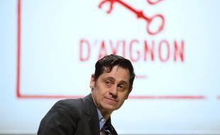 Olivier Py à Avignon le 20 mars 2014