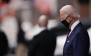 Depuis le début de la pandémie, Joe Biden ne sort jamais sans son masque.
