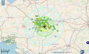 Plus de 200 témoignages ont été collectés sur le site France Séisme après le tremblement de terre qui a touché le sud de Rennes dans la nuit du 28 au 29 septembre.