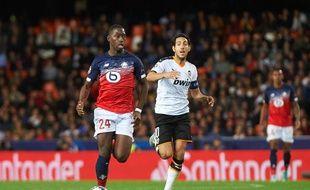 Boubakary Soumaré en Ligue des champions face à Valence