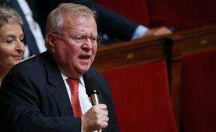 Jacques Myard, député Les républicains, à l'Assemblée nationale en octobre 2013.