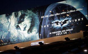 L'affiche de «The Dark Knight» à Los Angeles