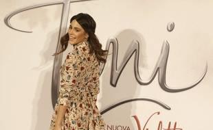 L'actrice et chanteuse argentine Martina Stoessel, à Milan, en Italie, le 10 septembre 2015.