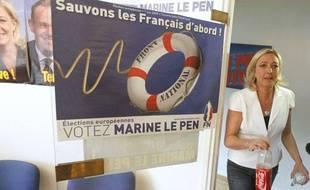 Marine Le Pen, le 7 juin 2009 à Henin-Beaumont.