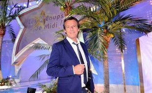 """Jean-Luc Reichmann, présentateur des """"12 coups de midi"""" sur TF1"""