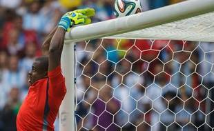 Le gardien du Nigéria Vincent Enyeama, à la Coupe du monde 2014