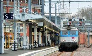 Le nouveau quai dessert notamment les lignes en direction d'Albi et de Rodez.